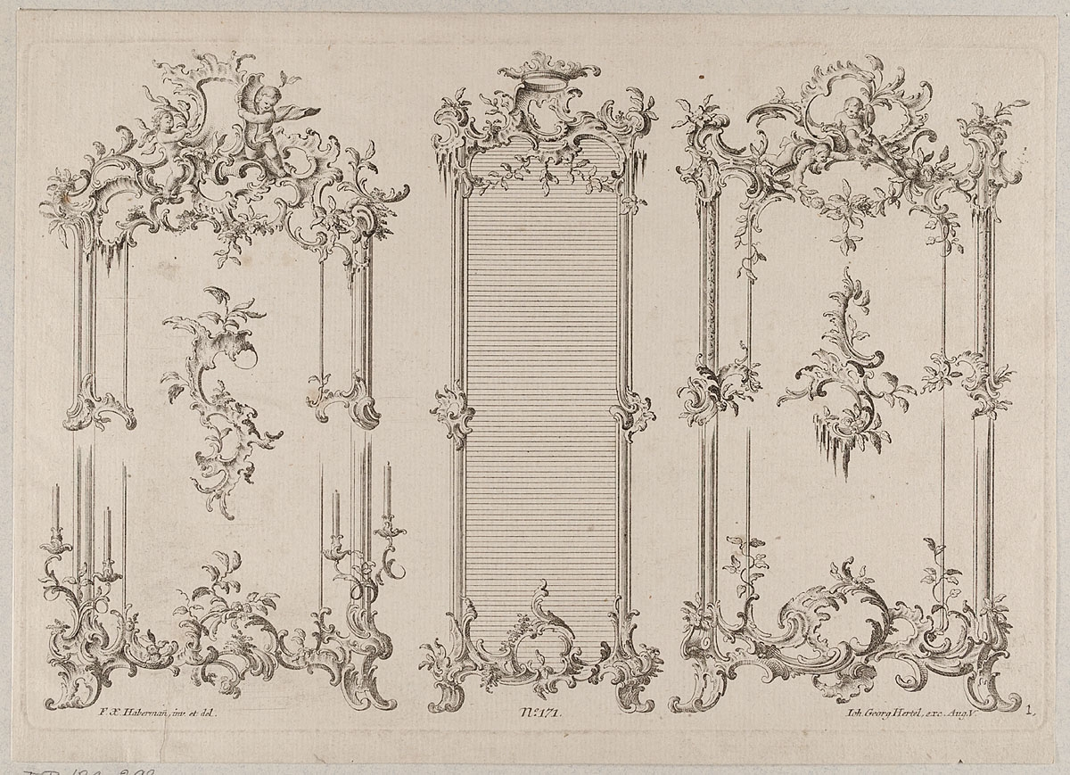 MKG Collection Online | Johann Georg Hertel, Franz Xaver Habermann ...