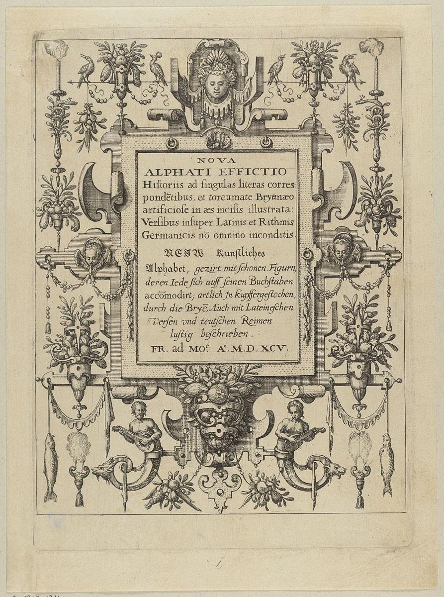 Alphabet datiert Buchstabe d